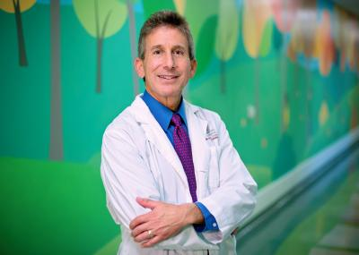 Jeffrey Rubnitz, M.D., Ph.D., of St. Jude Children's Research Hospital, led a study that suggests some pediatric AML patients may benefit from drugs designed to kill cells that carry a particular protein on their surface. Credit: St. Jude Biomedical Communications